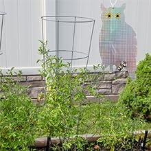 owl bird repellent garden fruits