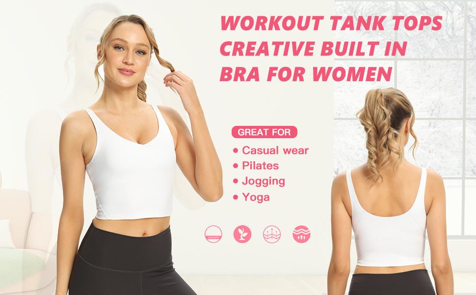 Fashion workout tank top for women