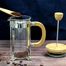 FRENCH COFFEE PRESS SINGLE SERVE