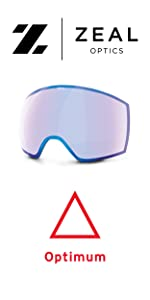low light replacement lens, ski goggles, snowboard goggles, zeal optics
