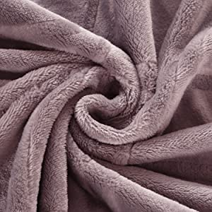 light purple blanket