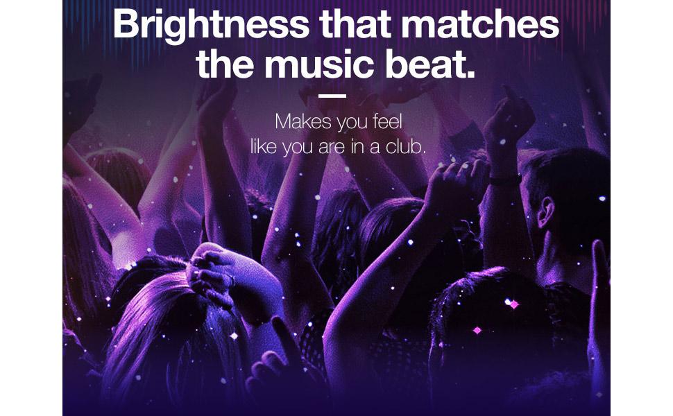 Brightness Club Music Beat