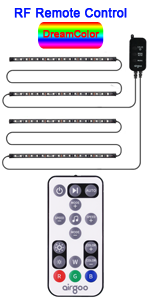 DreamColor RF Remote Control