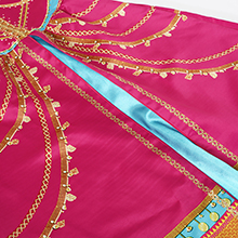 with beautiful printing, no itchy. Elastic waist and back to ensure for the perfect fit.