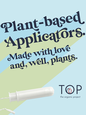 plant based all natural applicators environment friendly biodegradable tampons for teens girls women