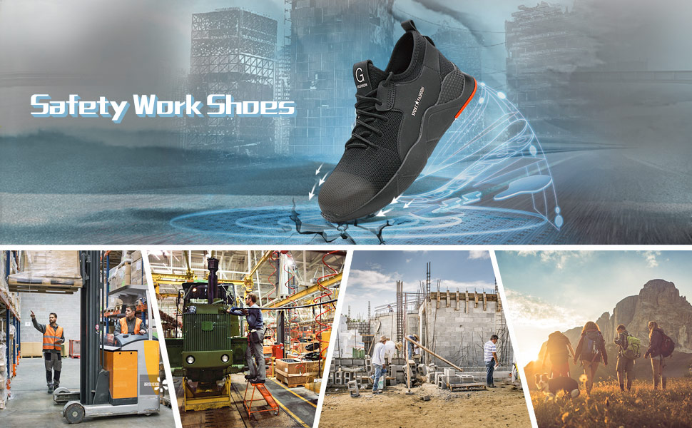 safety work shoes for men women
