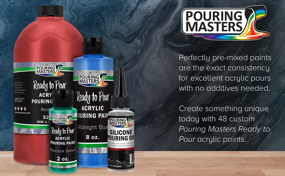 Ready to Pour Acrylic Pouring Paint