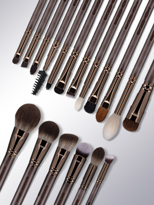 Premium Makeup Brush Set, 10pcs Complete Synthetic Kabuki Eye Shadow Concealer Make Up Brushes Be