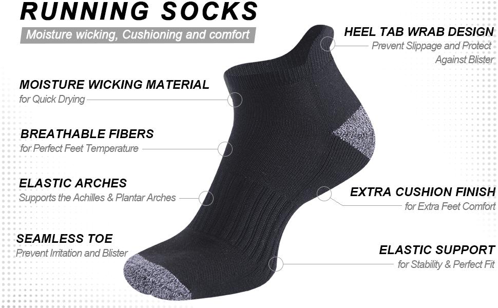 running socks for men
