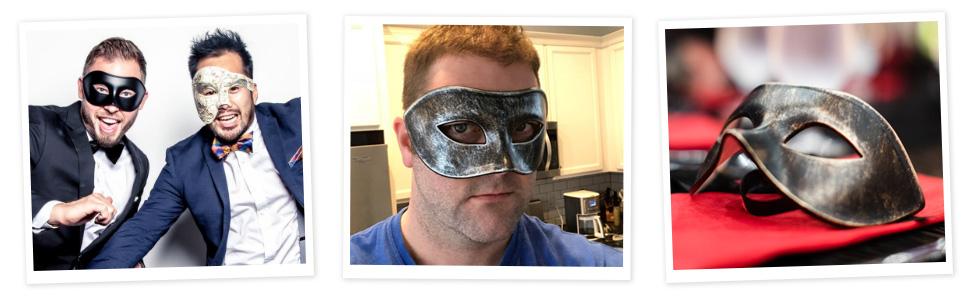 Luxury Mask Venetian Party Men's Masquerade Mask