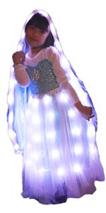Girls LED Light Up Cape