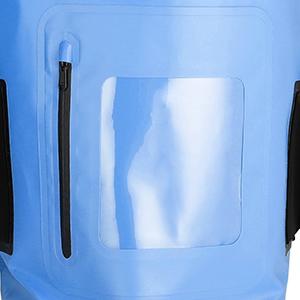 waterproof backpack with front zipper pocket dry backpack dry waterproof bag
