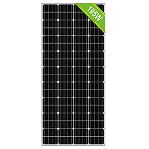 195W solar panel