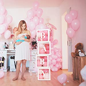 Baby Shower Boxes Party Decorations