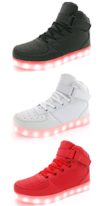 Girls Boys Youth Light Up Sneakers