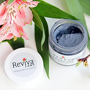 reviva poor minimizing exfoliating ask coconut charcoal daily use cleanser