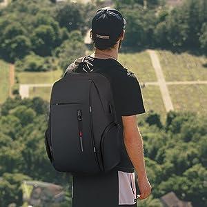 men fashion backpack