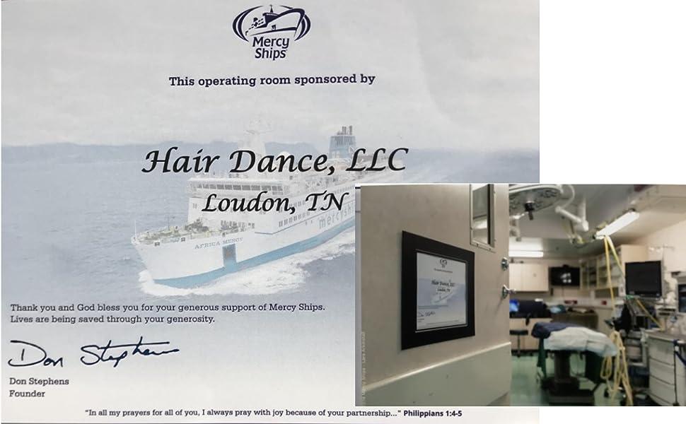 Hair Dance Mercy Ships