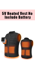 5V Heated Vest