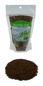 Handy Pantry 3 Part Salad Sprout Seed Mix