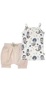 finn and emma, baby gift, newborn set, shorts, dress, tank top, infant, organic baby clothes