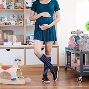 Pregnant compression socks