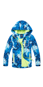 BOYS FLEECE LINED JACKETS