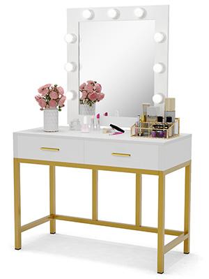 Dresser Desk Vanity Set For Bedroom