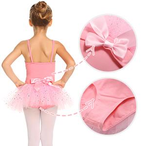Pink leotards