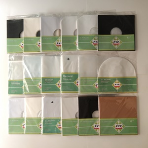 vinyl LP record outer sleeves and inner sleeves