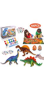 dinosaur painting kit