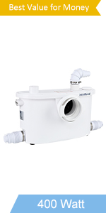 400watt macertor toilet pump