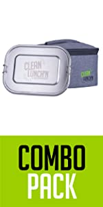 purchase a combo pack with a reusable container and lunch bag