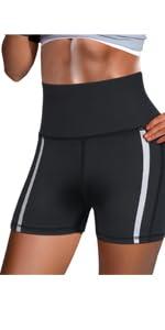 Reflective Strips Shorts