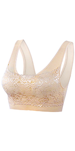 skin nature nude lace sleep sorts daily bra