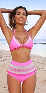 Pom-Poms bikini set