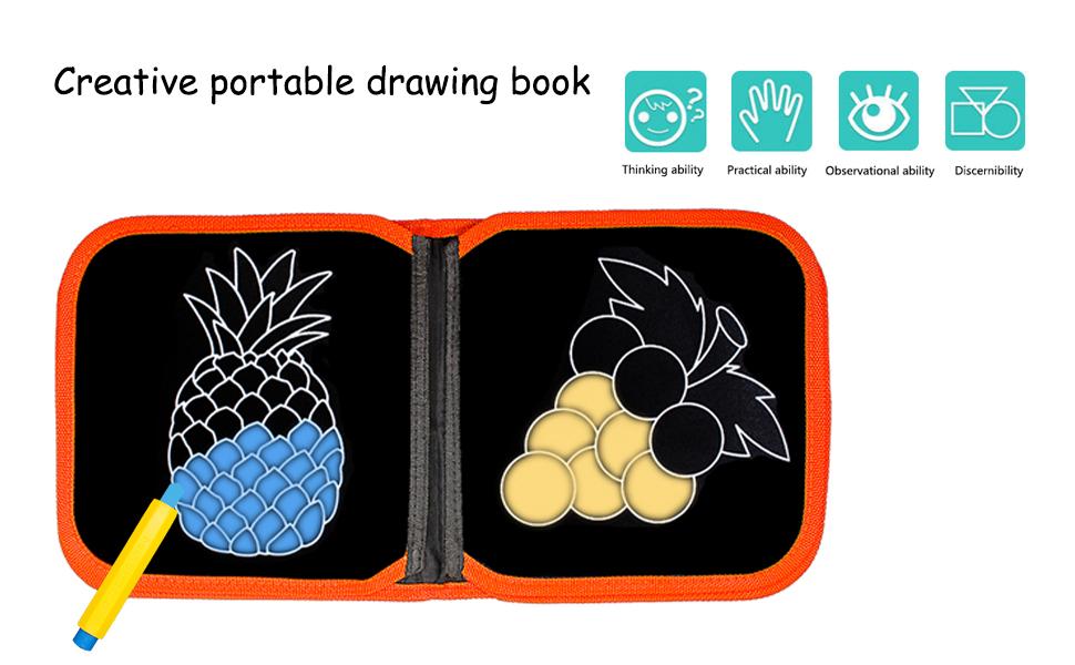 doodle book board