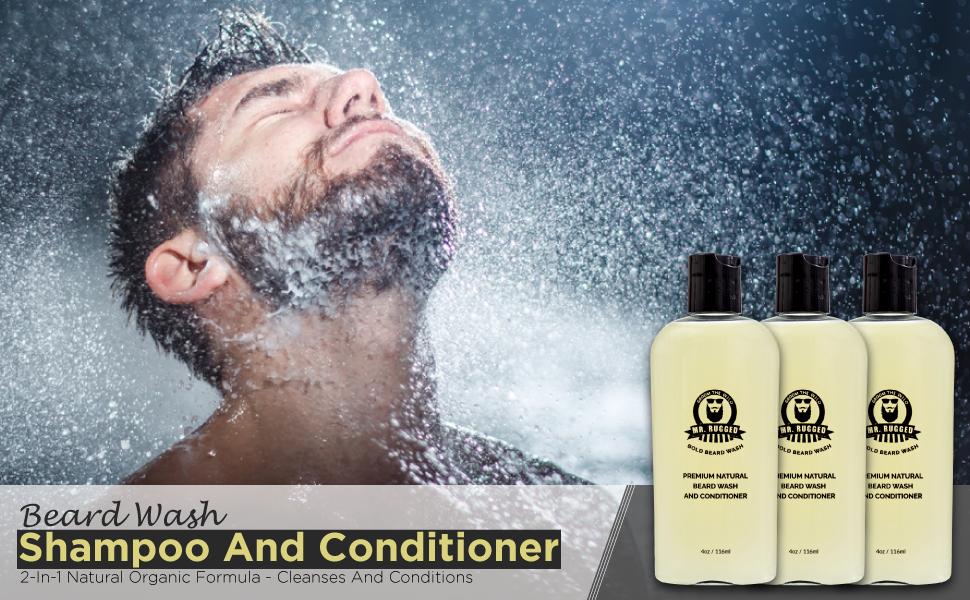 Beard Wash Shampoo