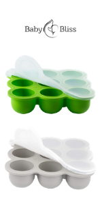 Baby Silicone Food Trays