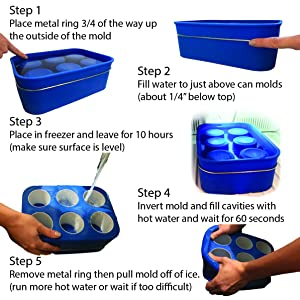deep freeze instructions to use