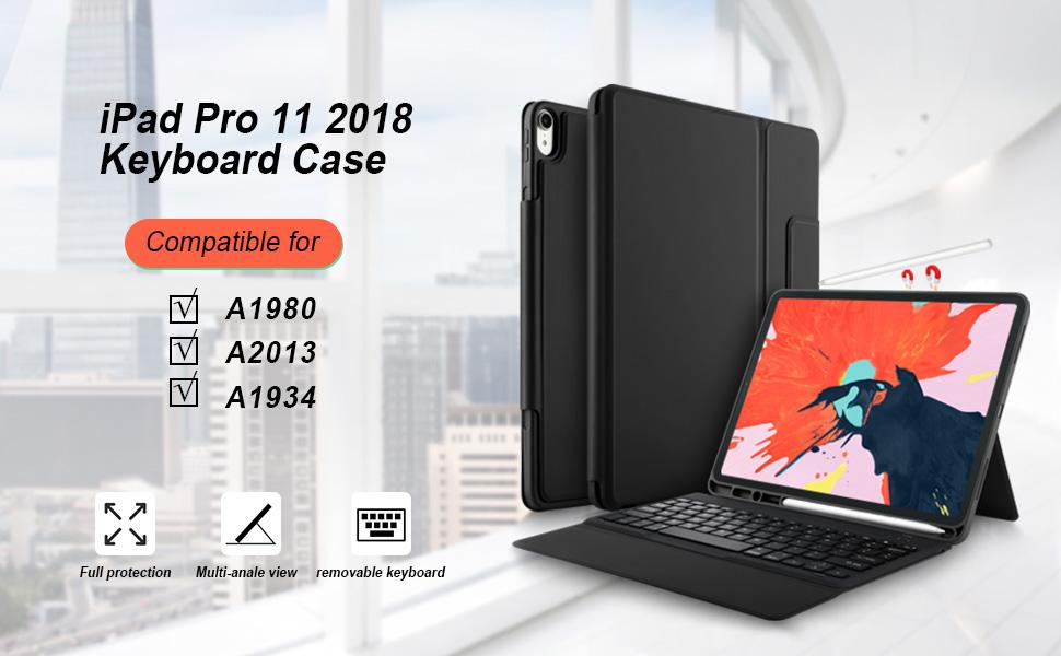 iPad Pro 11 case with keyboard