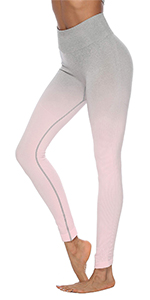 ombre seamless legging