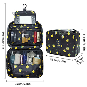 Large Capacity Cosmetic Toiletry Travel Organizer for Women/Men