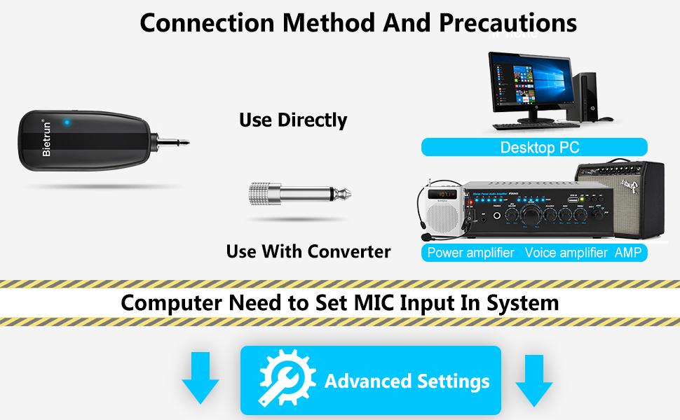 Wireless Microphones bluetooth