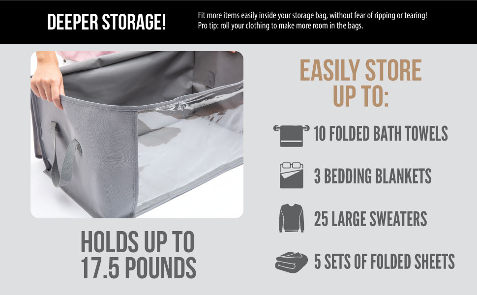 easily store items