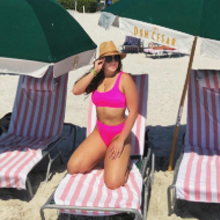 Pink bikini sets