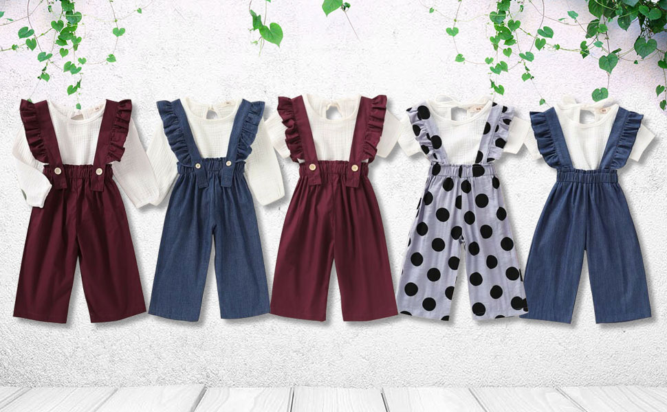 mubineo toddler girl outfits fall 3t 4t 5t 6t 2t spring clothes summer outfit cotton linen set tee