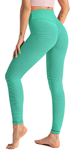 GP-26 Stripe Butt Lift Scrunch Leggings