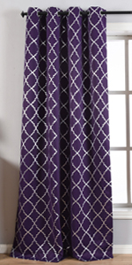 purple balckout curtains,moroccan curtains,geo curtains,thermal insualted curtains