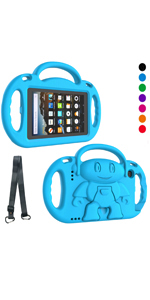 fire 7 2019 case fire 7 2017 case amazon fire 7 2019 case amazon kindle fire 7 kids case blue boys